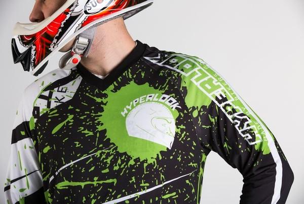 Hyperlook Shell Green Джерси